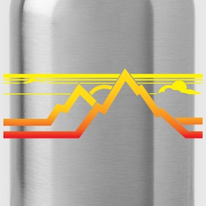Mountains T-Shirts - Water Bottle