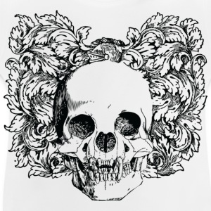Floral Gothic Skull Shirts - Baby T-Shirt