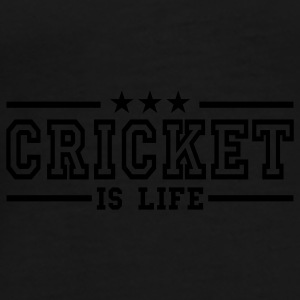 cricket is life deluxe Paraply - Premium-T-shirt herr