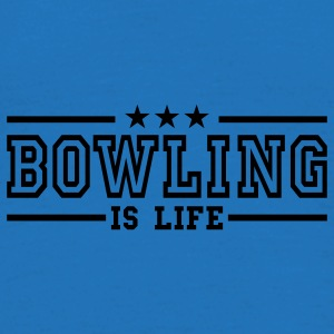 bowling is life deluxe Sacs - T-shirt Homme