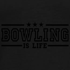 bowling is life deluxe Ropa interior - Camiseta premium hombre