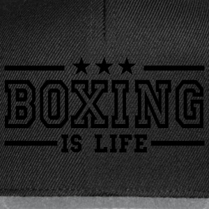 boxing is life deluxe Ropa interior - Gorra Snapback
