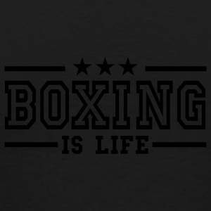 boxing is life deluxe Jacken - Männer Premium T-Shirt