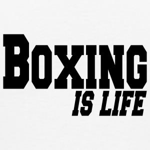 boxing is life Jakker - Premium T-skjorte for menn