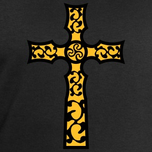 tribal_cross_a_2c T-Shirts - Men's Sweatshirt by Stanley & Stella