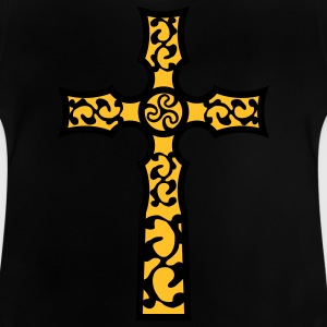 tribal_cross_a_2c Camisetas - Camiseta bebé