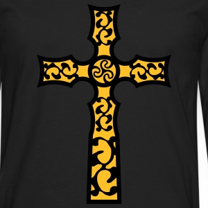 tribal_cross_a_2c Tee shirts - T-shirt manches longues Premium Homme