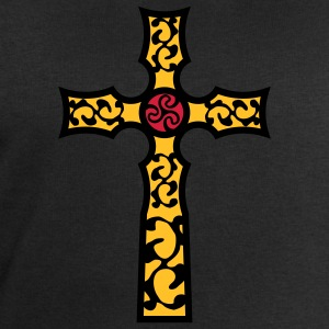 tribal_cross_a_3c Tee shirts - Sweat-shirt Homme Stanley & Stella
