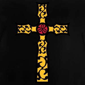 tribal_cross_a_3c Shirts - Baby T-shirt