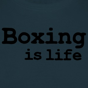 boxing is life  Aprons - Men's T-Shirt