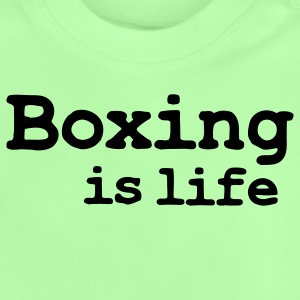 boxing is life Børne sweatshirts - Baby T-shirt