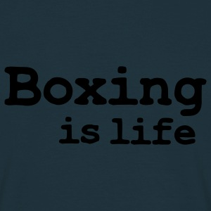 boxing is life Sweatshirts - T-shirt Homme