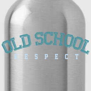 Old School Respect 02 T-shirts - Drinkfles