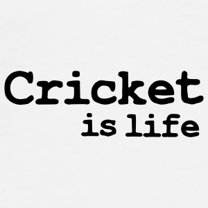 cricket is life Mokken - Mannen Premium T-shirt