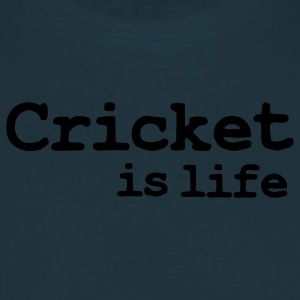 cricket is life Kookschorten - Mannen T-shirt