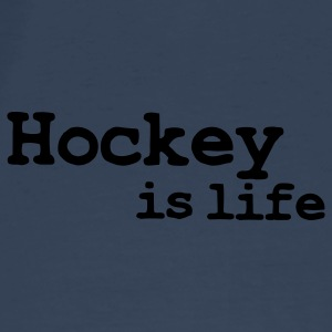 hockey is life Bags  - Men's Premium T-Shirt