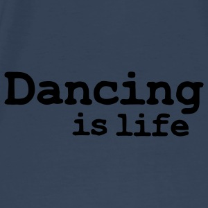 dancing is life Vesker - Premium T-skjorte for menn