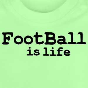 football is life Barnegensere - Baby-T-skjorte