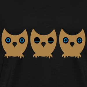 Owl Bags  - Men's Premium T-Shirt