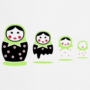 Matryoshka T-shirts - Tablier de cuisine