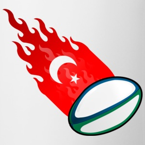 Vuurbal Rugby Turkije T-shirts - Mok