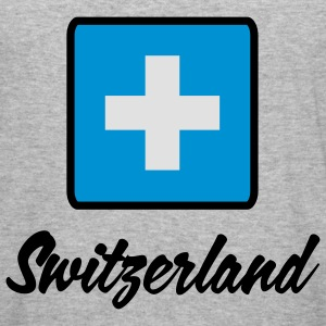 Flag Helvetia 2 (2c) Sweatshirts - Herre Slim Fit T-Shirt