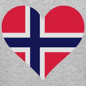 Heart Love Norway (3c) Tröjor - Slim Fit T-shirt herr