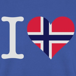 I Love Norway 1 (3c) Barneskjorter - Genser for menn