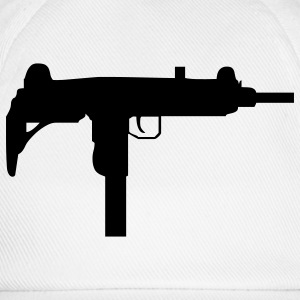 gun rifle weapon military m16 T-shirt - Cappello con visiera