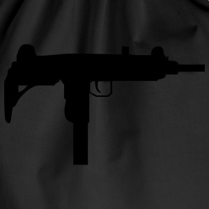 gun rifle weapon military m16 T-shirts - Gymnastikpåse