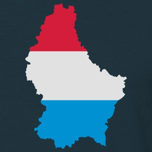map+flag Luxembourg Jacken - Männer T-Shirt