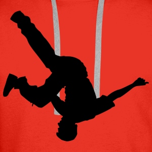 breakdance T-skjorter - Premium hettegenser for menn