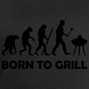 born to grill (BBQ) T-Shirts - Men's Sweatshirt by Stanley & Stella