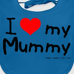 I Love My Mummy Kids' Shirts - Baby Organic Bib