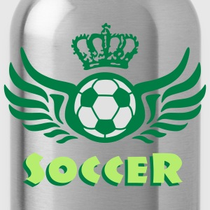 soccer_c_3c Shirts - Water Bottle
