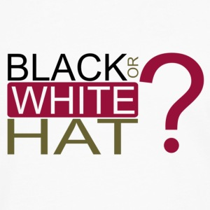 Black or White Hat? Tasses - T-shirt manches longues Premium Homme