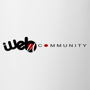 Web community T-shirts - Tasse