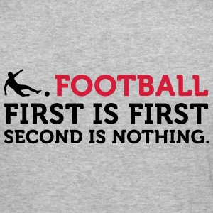 Football - Second is Nothing (2c) Tröjor - Slim Fit T-shirt herr