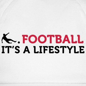 Football - A Lifestyle (2c) T-Shirts - Baseball Cap
