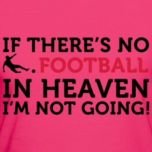 Football - In Heaven (2c) Bags  - Women's Organic T-shirt