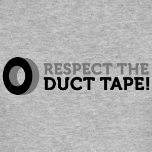 Respect the Duct Tape (2c) Sweatshirts - Herre Slim Fit T-Shirt