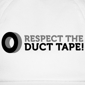 Respect the Duct Tape (2c) T-shirts - Baseballkasket