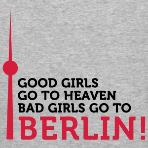 Bad Girls go to Berlin (2c) Pullover - Maglietta aderente da uomo