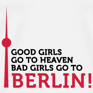 Bad Girls go to Berlin (2c) Borse - Maglietta Premium da uomo