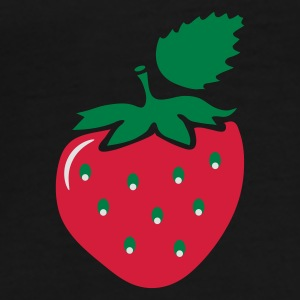 a strawberry lipstick Umbrellas - Men's Premium T-Shirt