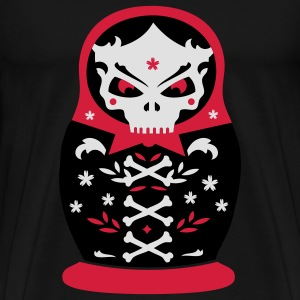 The dead Matryoshka Hoodies & Sweatshirts - Men's Premium T-Shirt