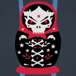 The dead Matryoshka T-Shirts - Men's Premium Hoodie