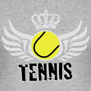 tennis_c_3c Sweatshirts - Herre Slim Fit T-Shirt