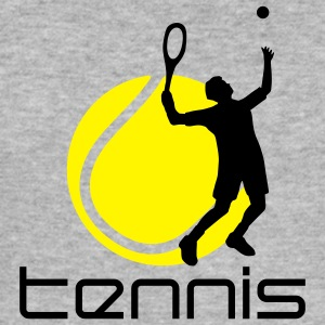 tennis_f_2c Sweatshirts - Herre Slim Fit T-Shirt