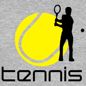 tennis_g_2c Sweatshirts - Herre Slim Fit T-Shirt